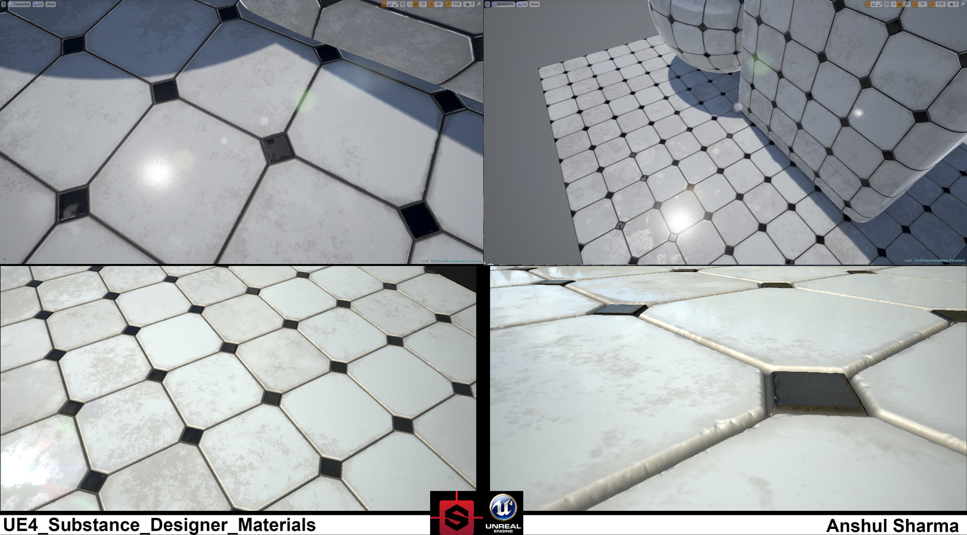 Anshul sharma ue4 substance material wip