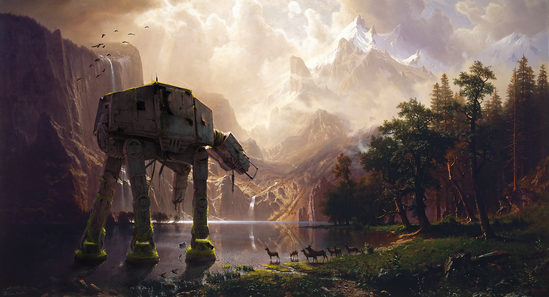 AT-AT Among The Sierra Nevada