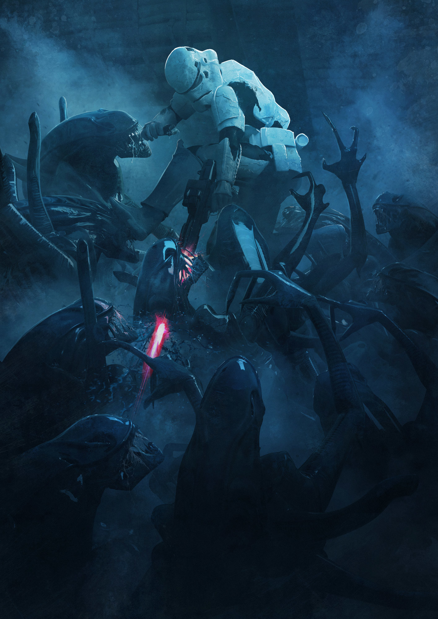 Guillem h pongiluppi guillemhp 501 legion stormtroopers vs aliens detail 1