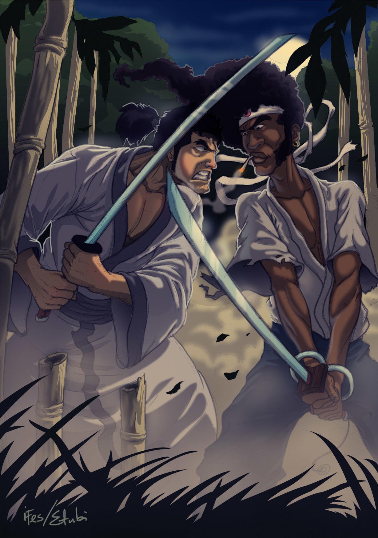 Etubi onucheyo samurai jack vs afro samurai