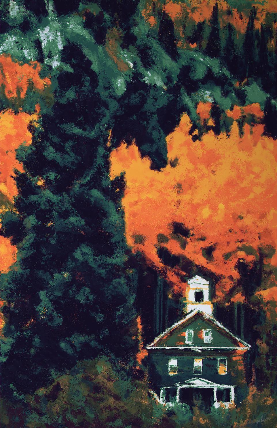 Colorado Autumn Speedpaint