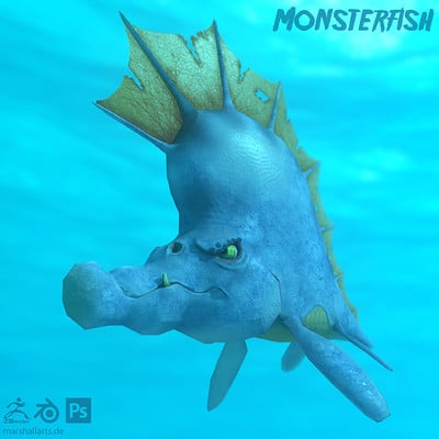 Marshall pawletta monsterfish