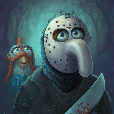 Jason beck gonzo print