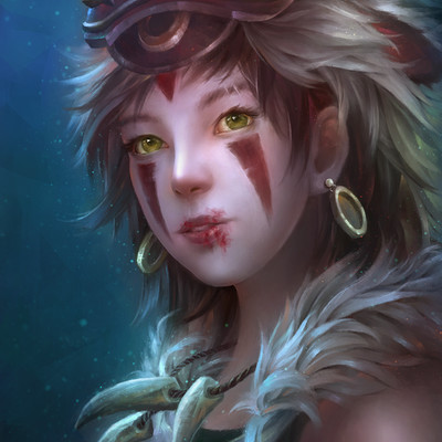 Ninen cat princess mononoke