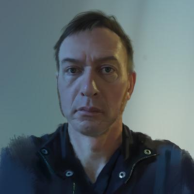 Guenter zimmermann portrait g blau