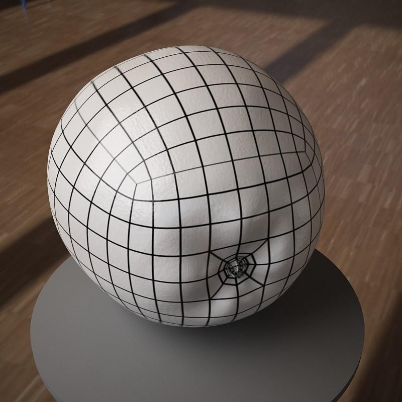 ArtStation - 3D model apple fruit, Stephan Plotnicov