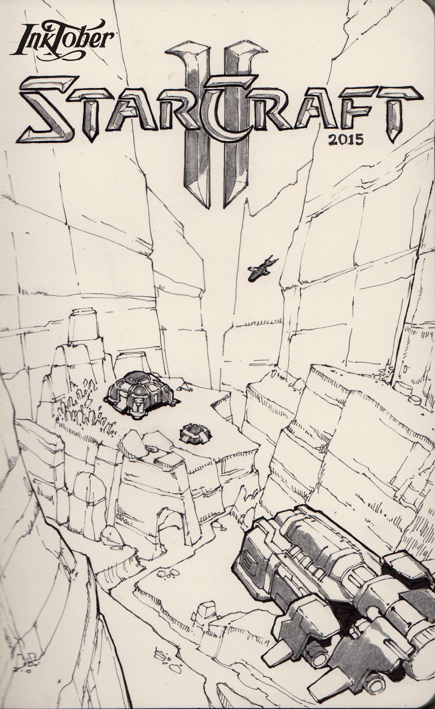 Terran base - Inspired by Moebius