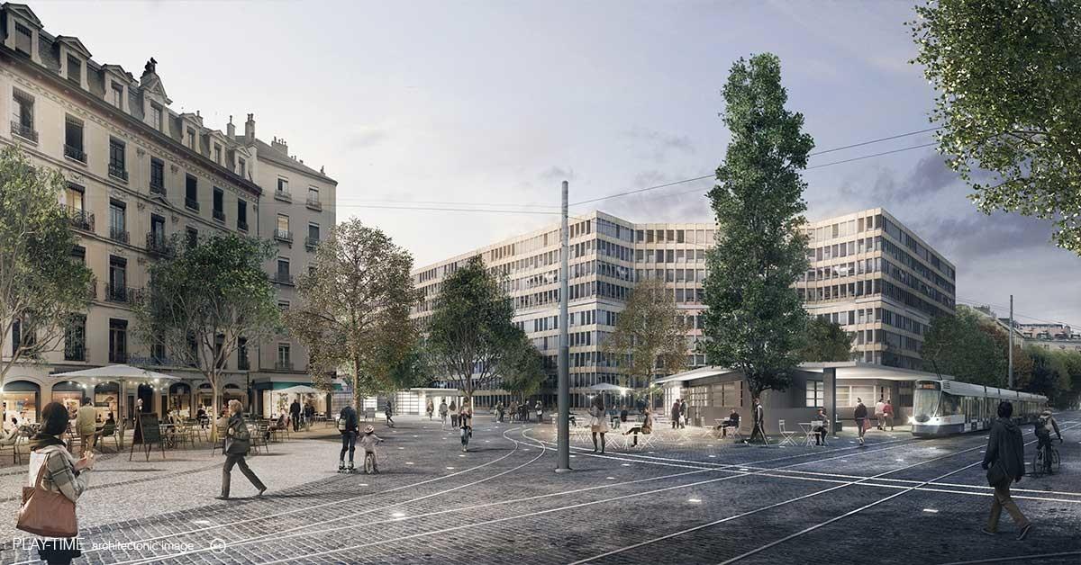 Play time architectonic image 2 2 architecture public space rive geneva 02