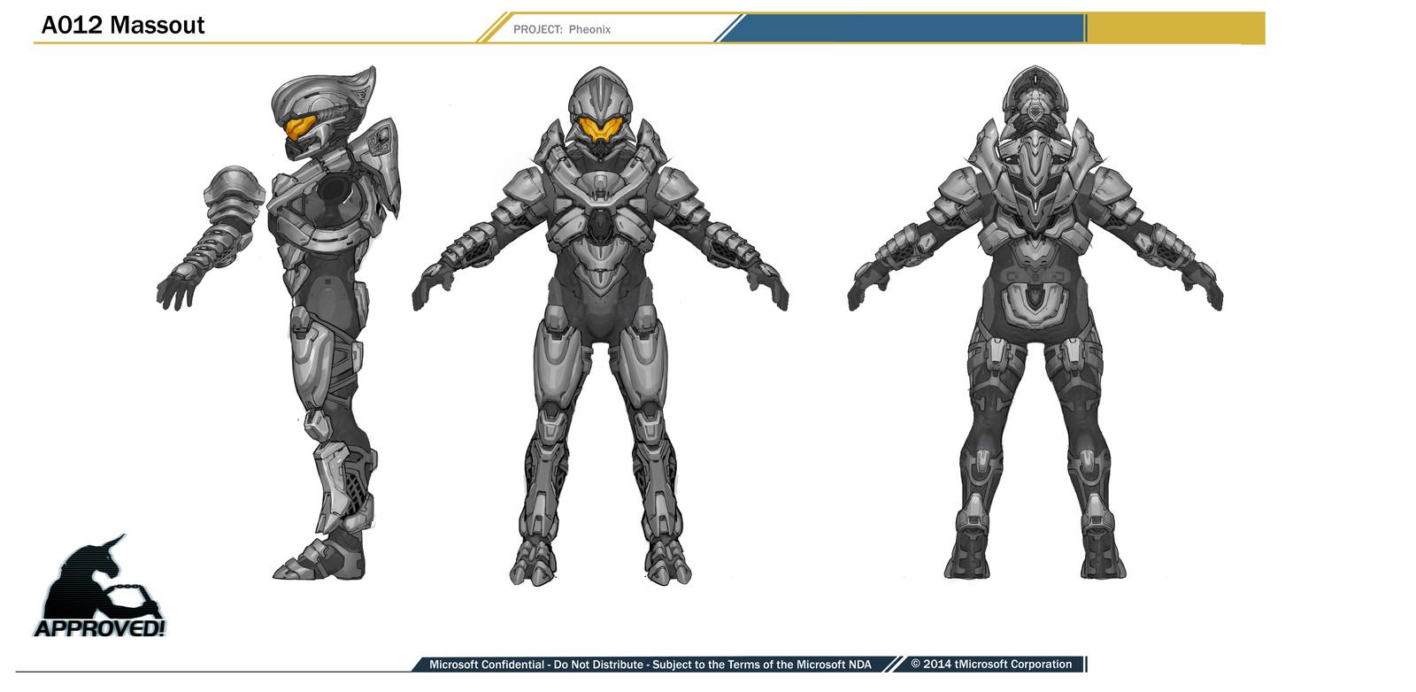 Halo 5- Helioskrill Armor