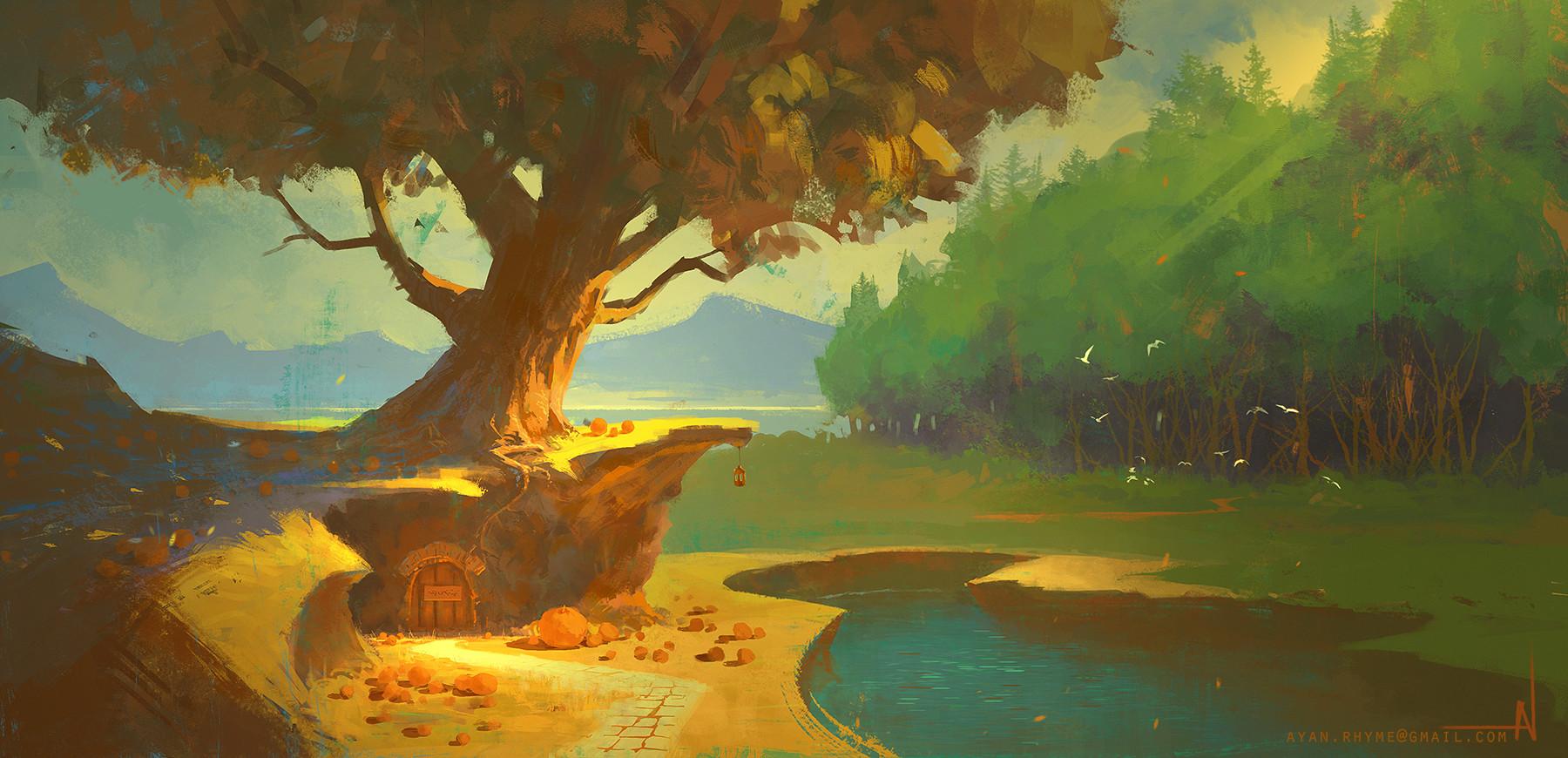 Ayan nag tree house by ayan nag