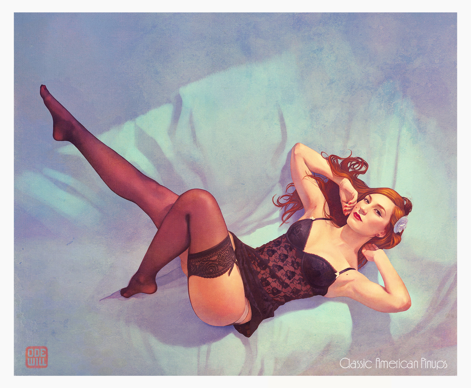 Odewill paco martinez maria pinup
