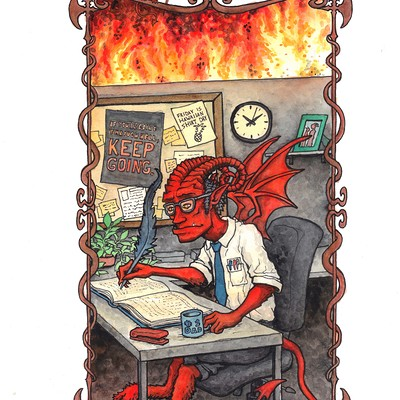 Patrick weck demon clerk cropped