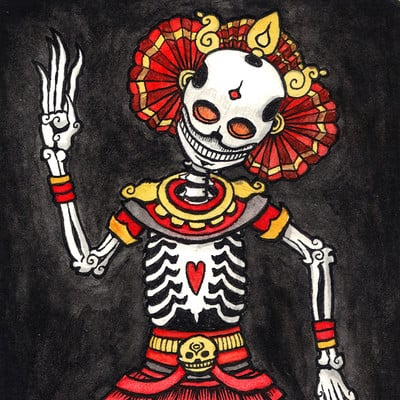 Patrick weck tibetan skeleton final version
