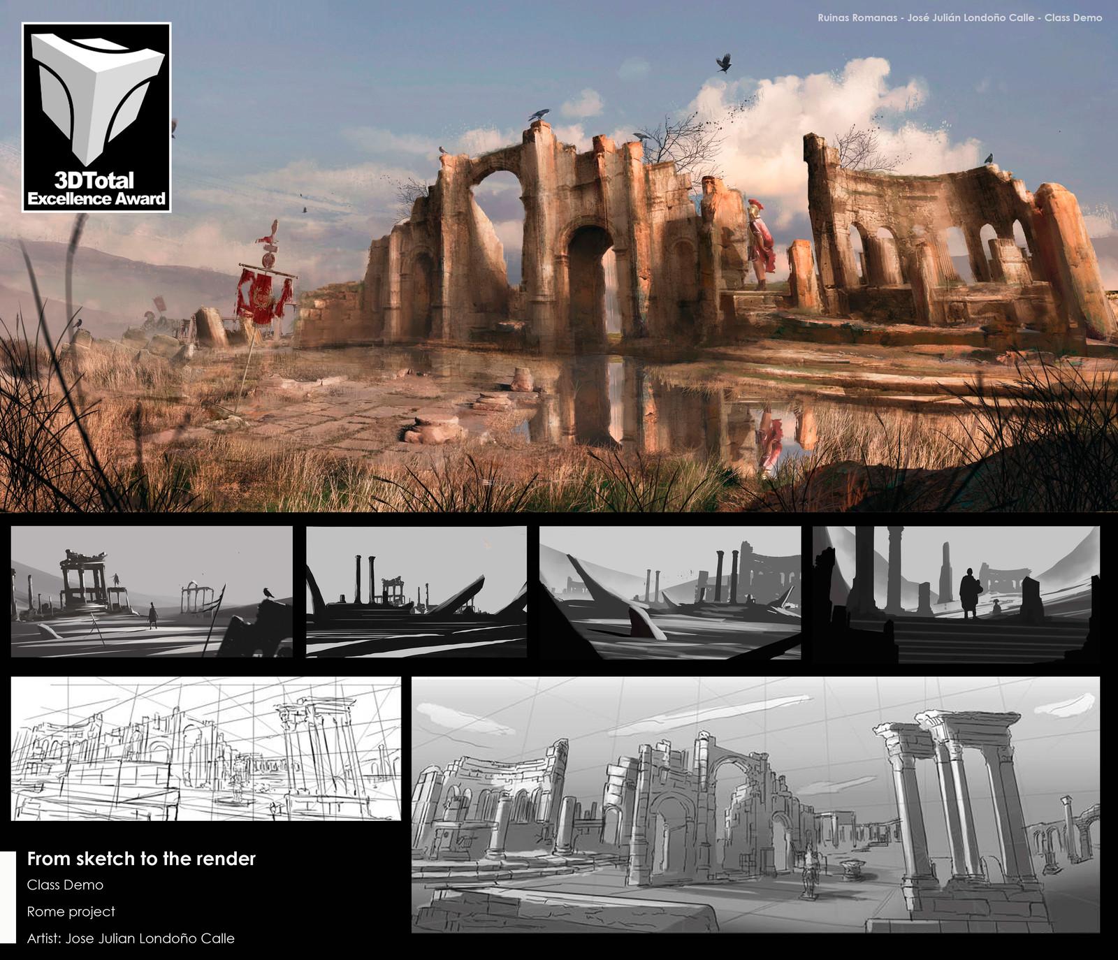 Class Demo. Ruinas Romanas.