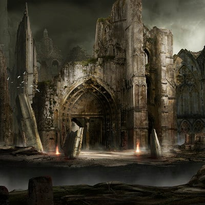 Nicolas zuriaga concept ruins4