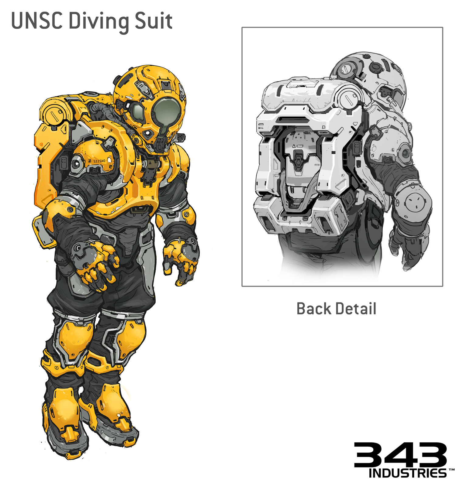 Halo 5 Concept- Diving Suit