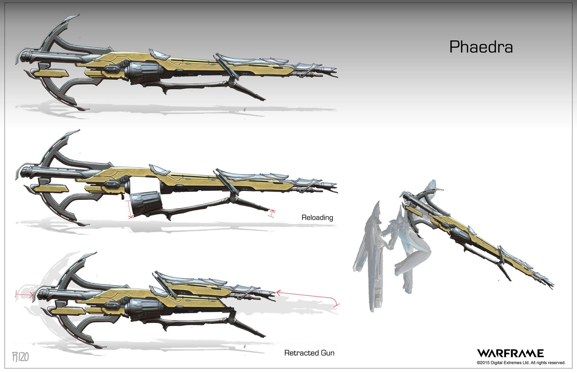 Znalezione obrazy dla zapytania warframe phaedra