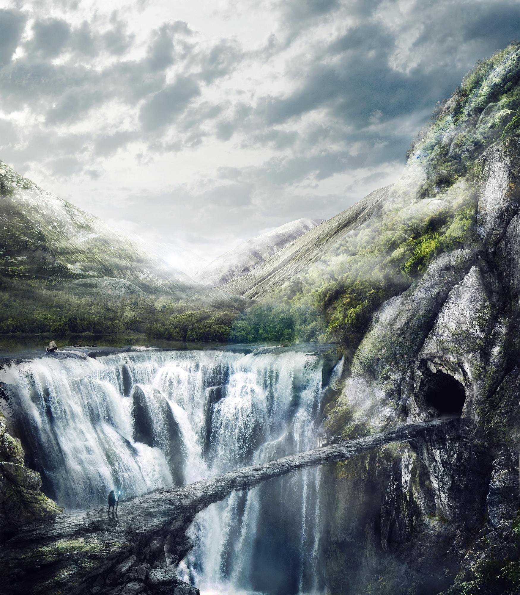 Romuald chaigneau matt painting cascade hd redim