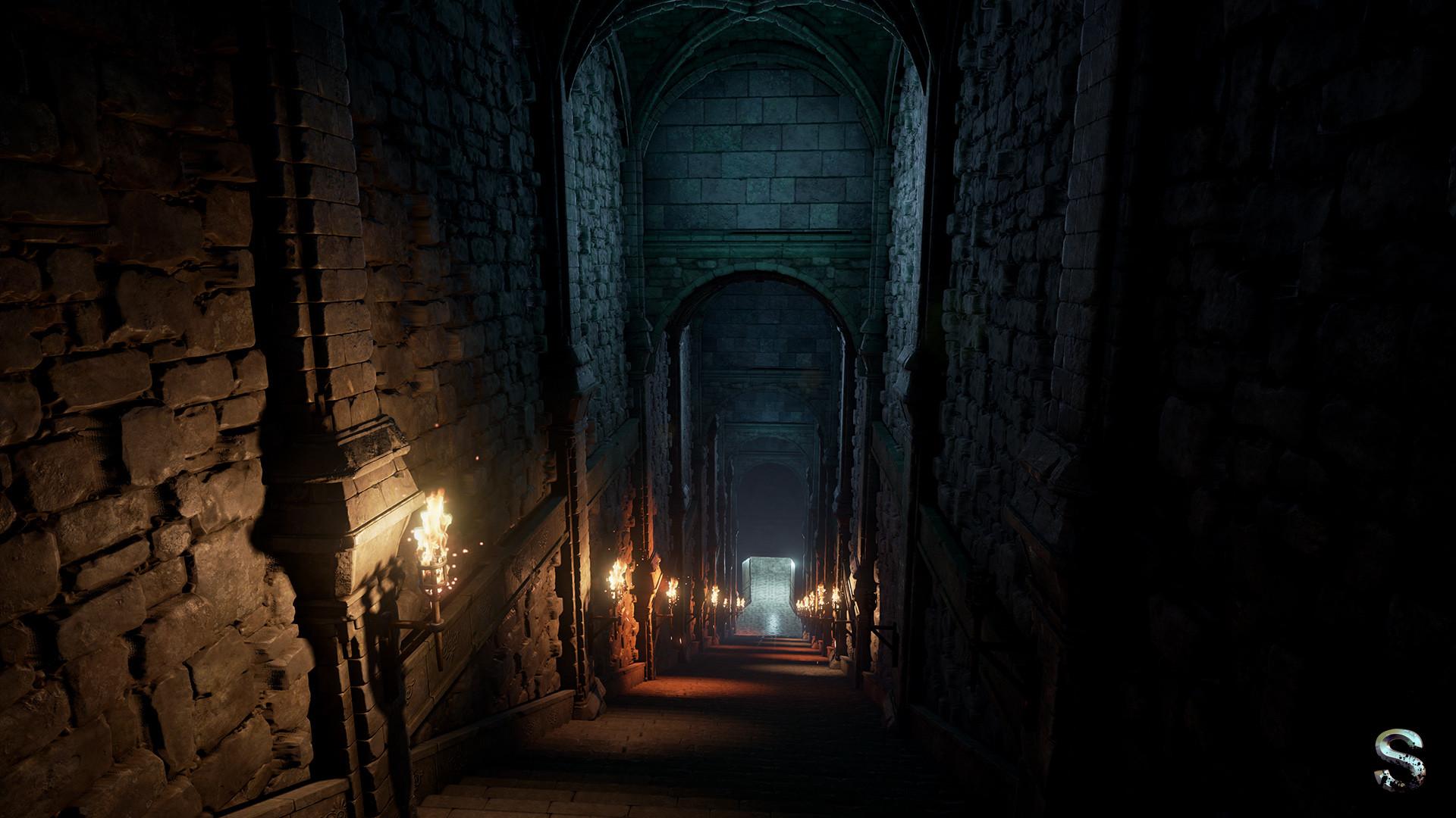 Silvertm Fantasy Dungeon Ue4