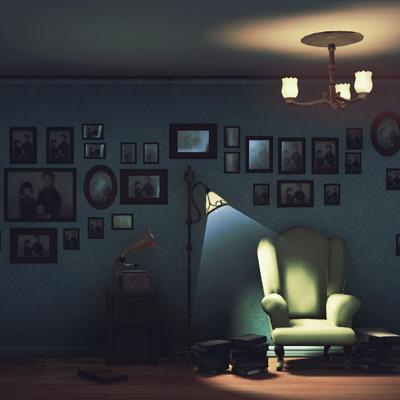 Philip hogg livingroom