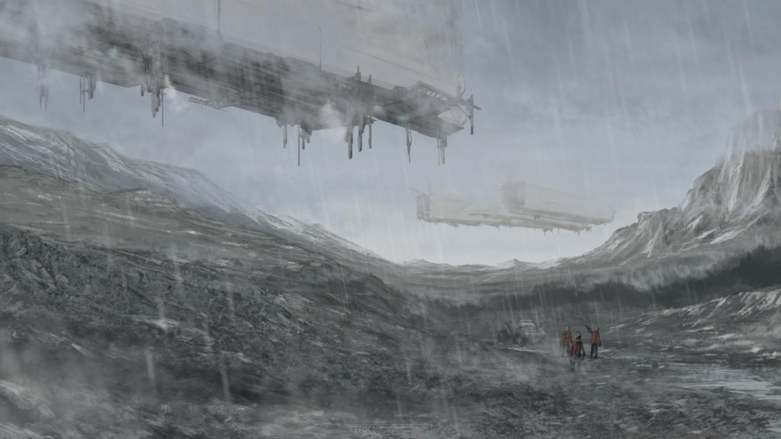 Sci-fi concept piece