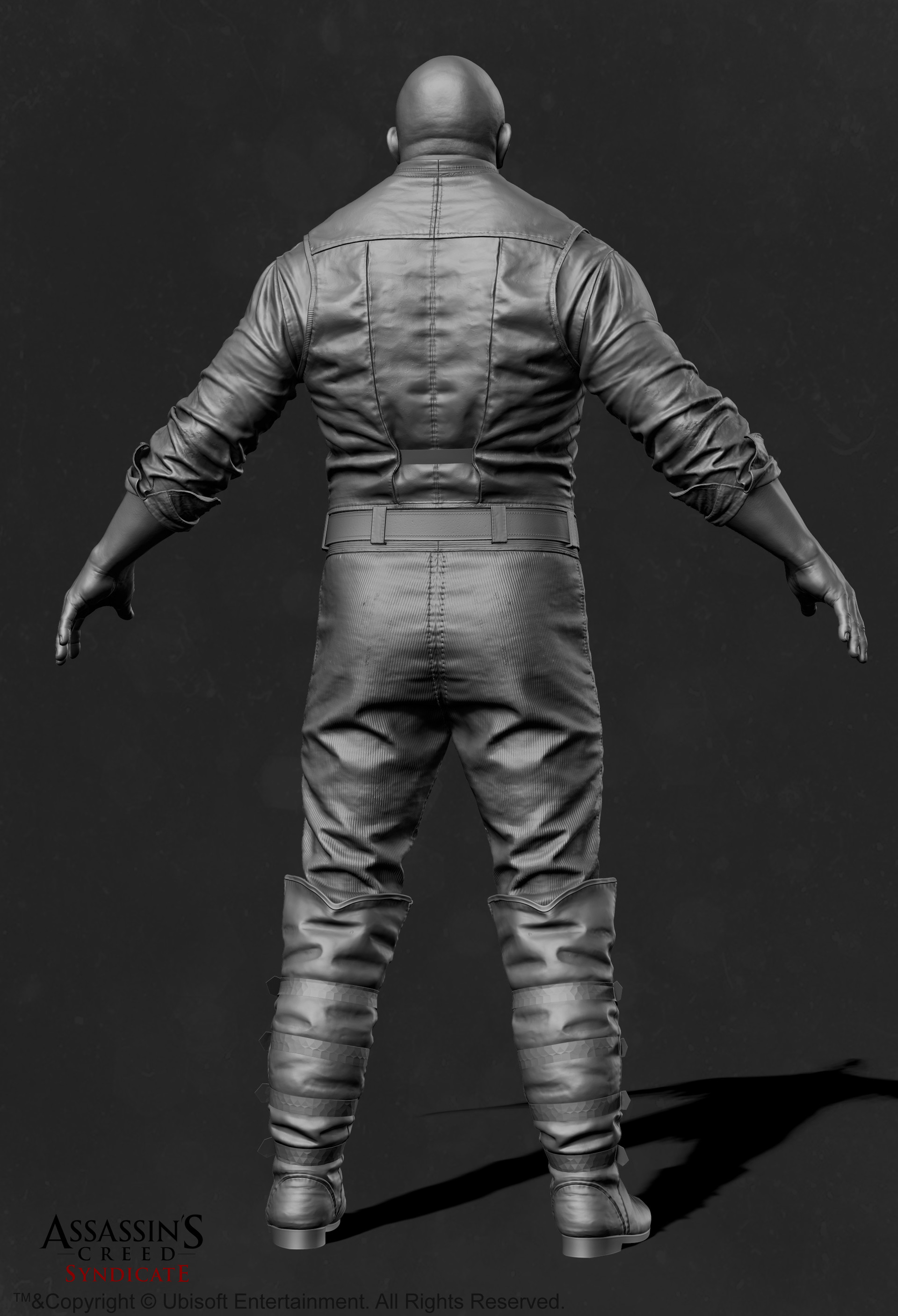 Mathieu goulet zbrush body templarbrutes back