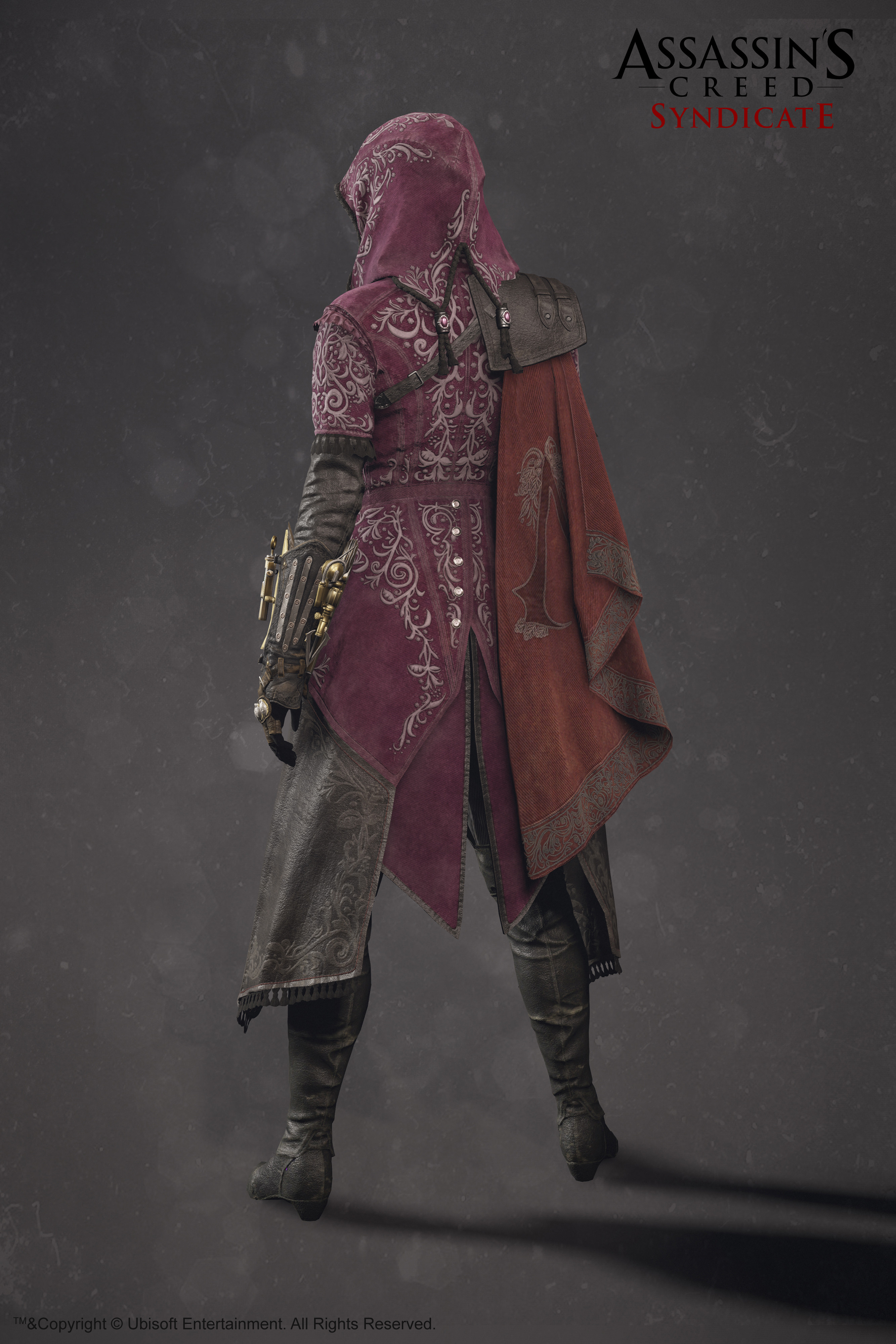 Artstation Evie Frye Outfit Assassin S Creed Syndicate Sabin Lalancette