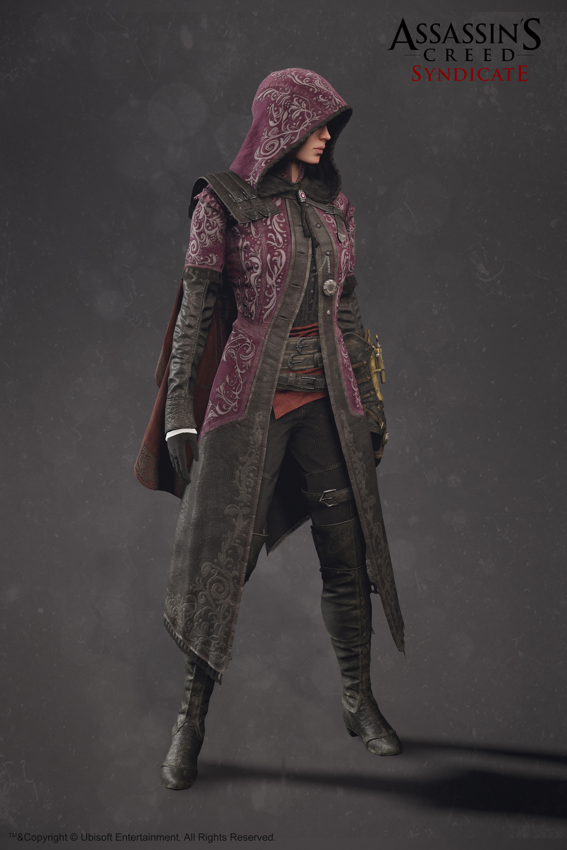 Artstation Evie Frye Outfit Assassin S Creed Syndicate Sabin