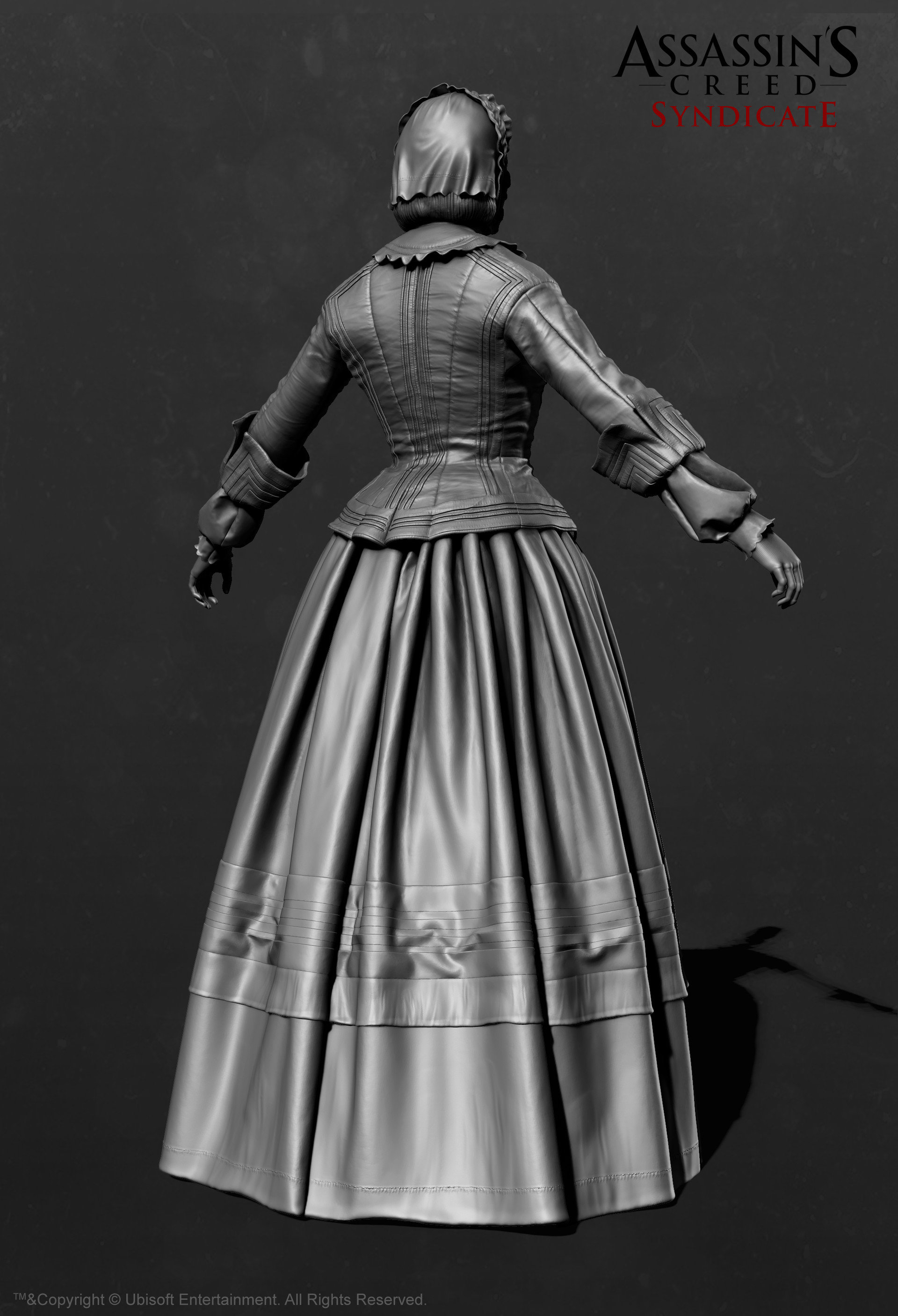 Florence Nightingale_Zbrush