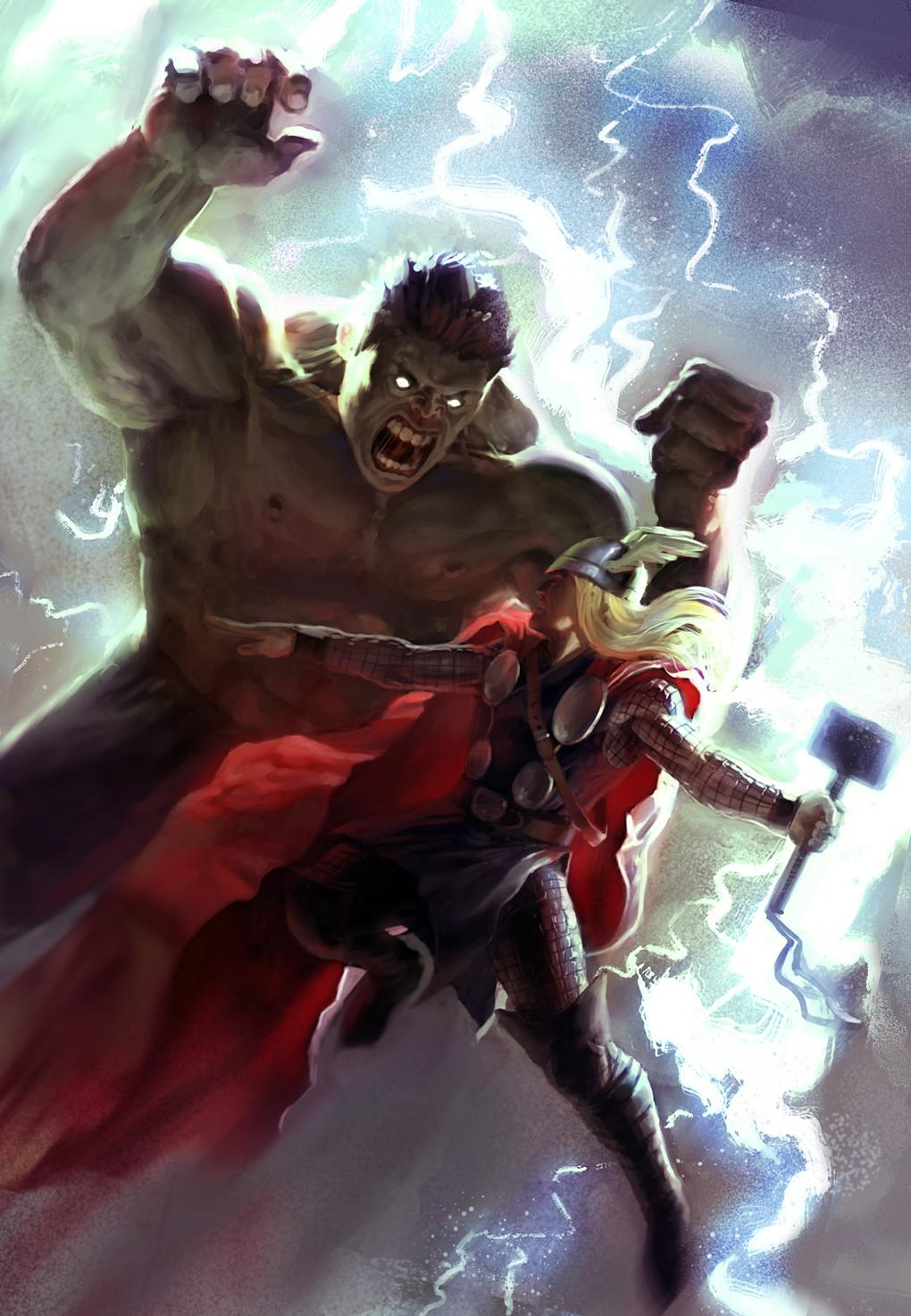 Daniel clarke thor vs hulk