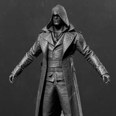 Assassin's Creed Syndicate - Jacob Outfit 03 Zbrush