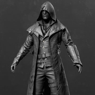 Assassin's Creed Syndicate - Jacob's Frankeinstein DLC outfit Zbrush