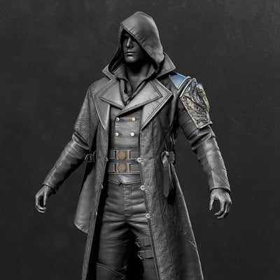 Assassin's Creed Syndicate - Jacob Outfit 07 Zbrush