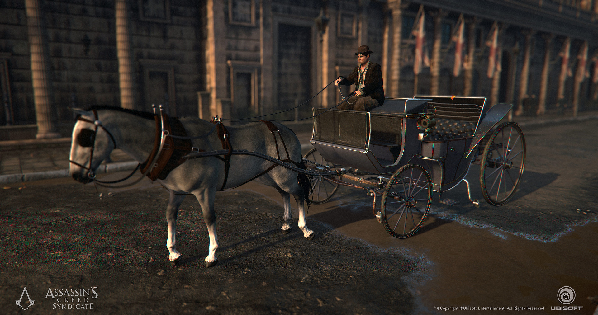 ArtStation - Assassin's Creed Syndicate - Carriages - Textures ...