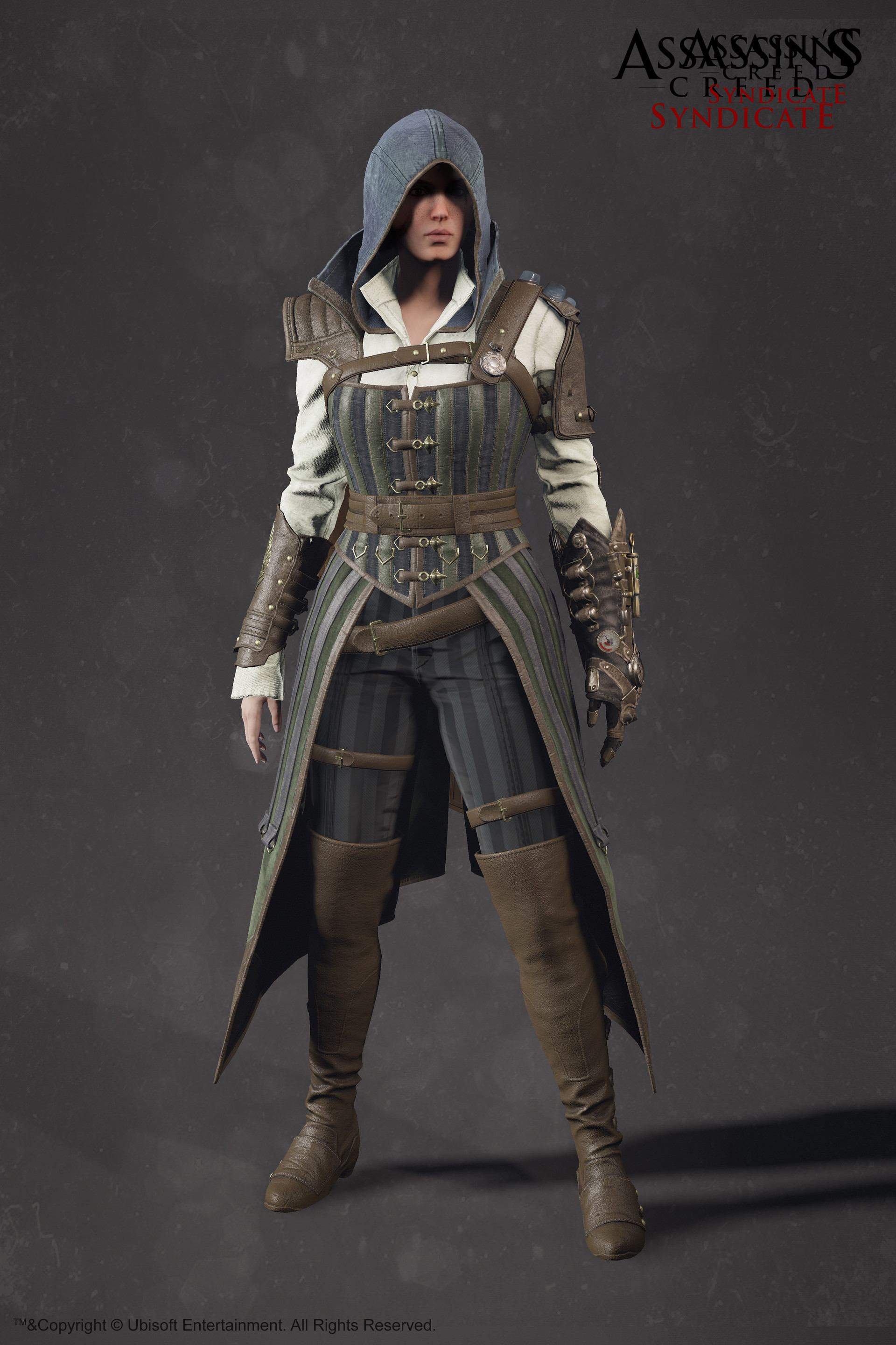 Evie Frye Steampunk Outfit