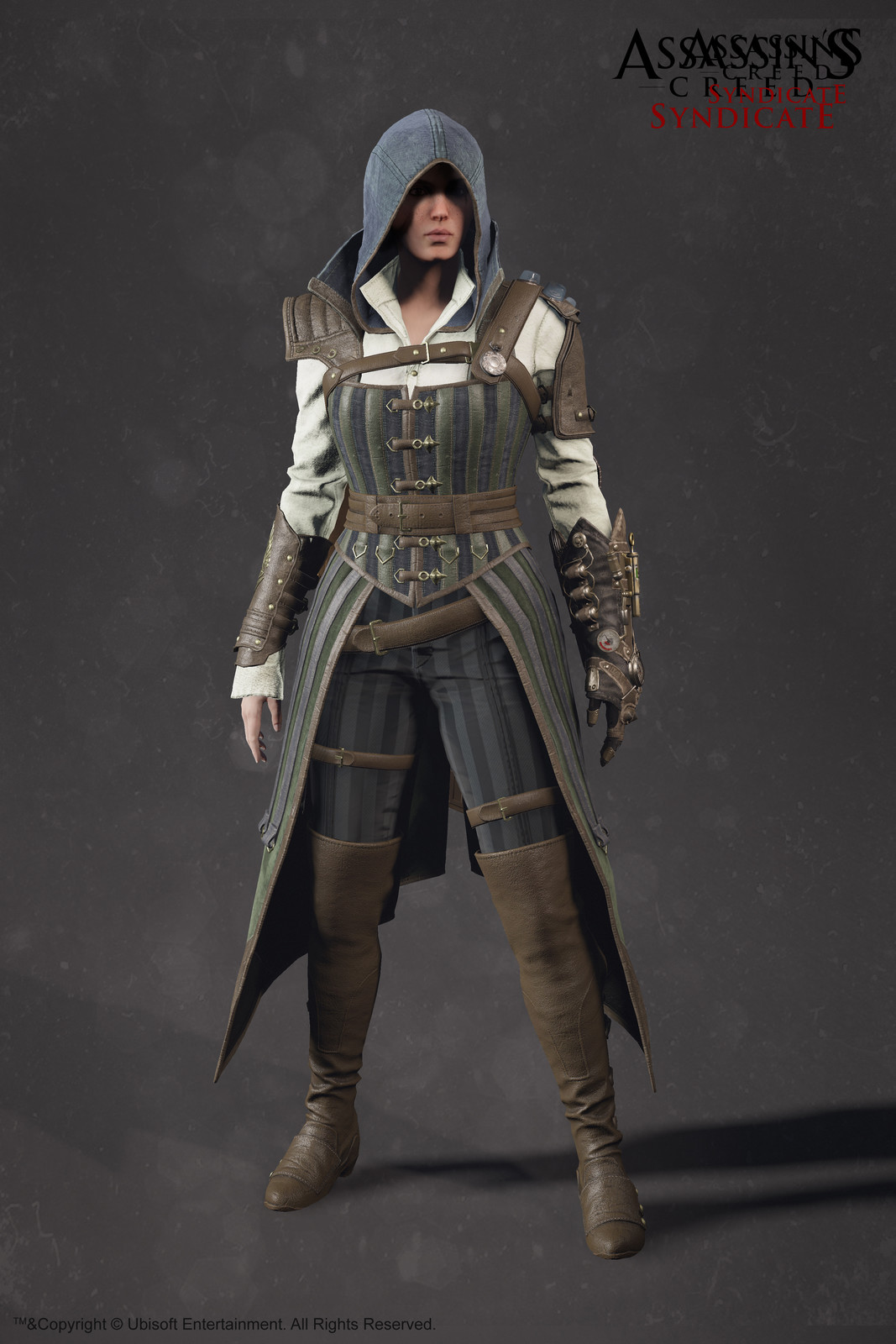 Evie Frye Steampunk Outfit - Assassin'S Creed Syndicate