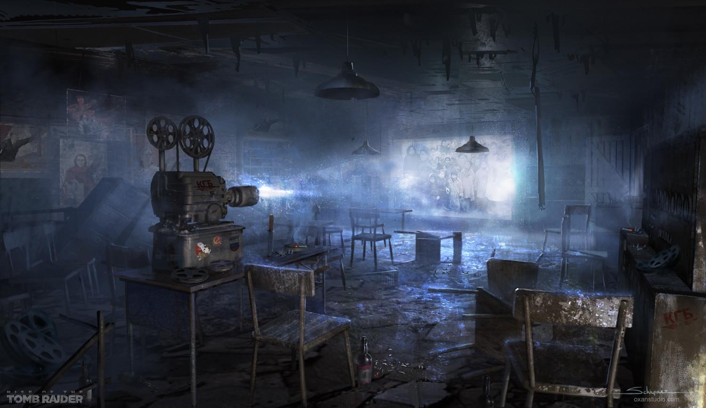Yohann schepacz oxan studio gulag projectionroom keyart w
