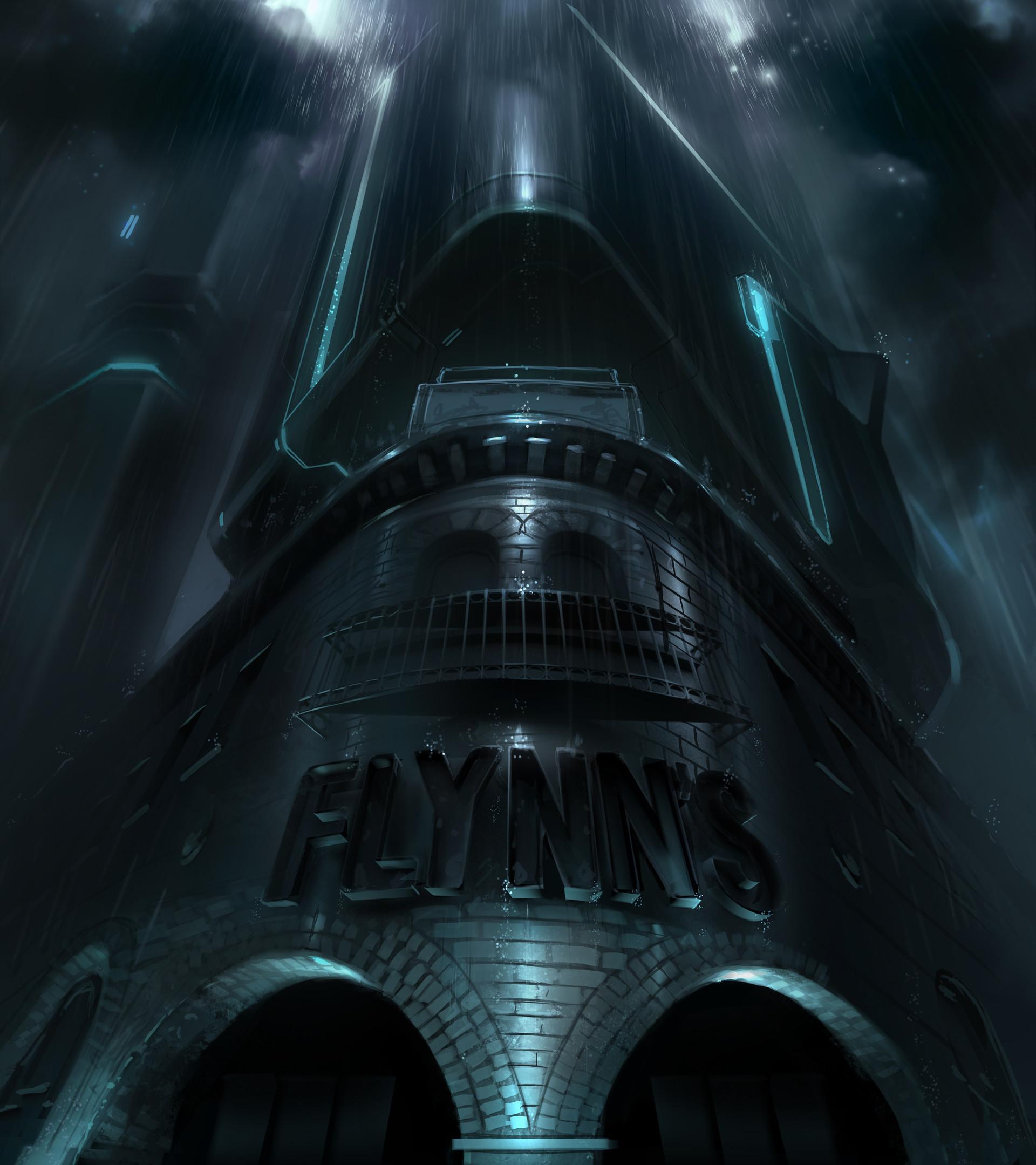 Artstation Tron Legacy Movie Concept Art Sample David Levy