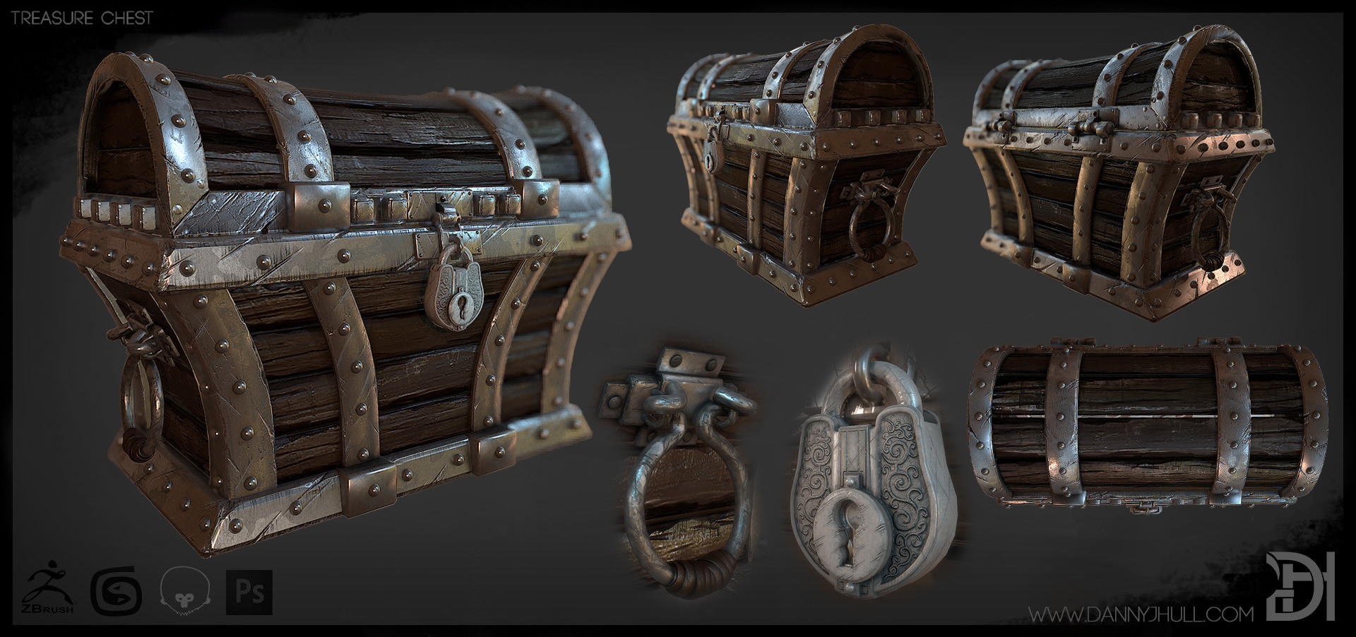 Daniel hull treasure chest