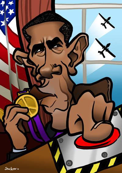 Steve rampton obama war peace