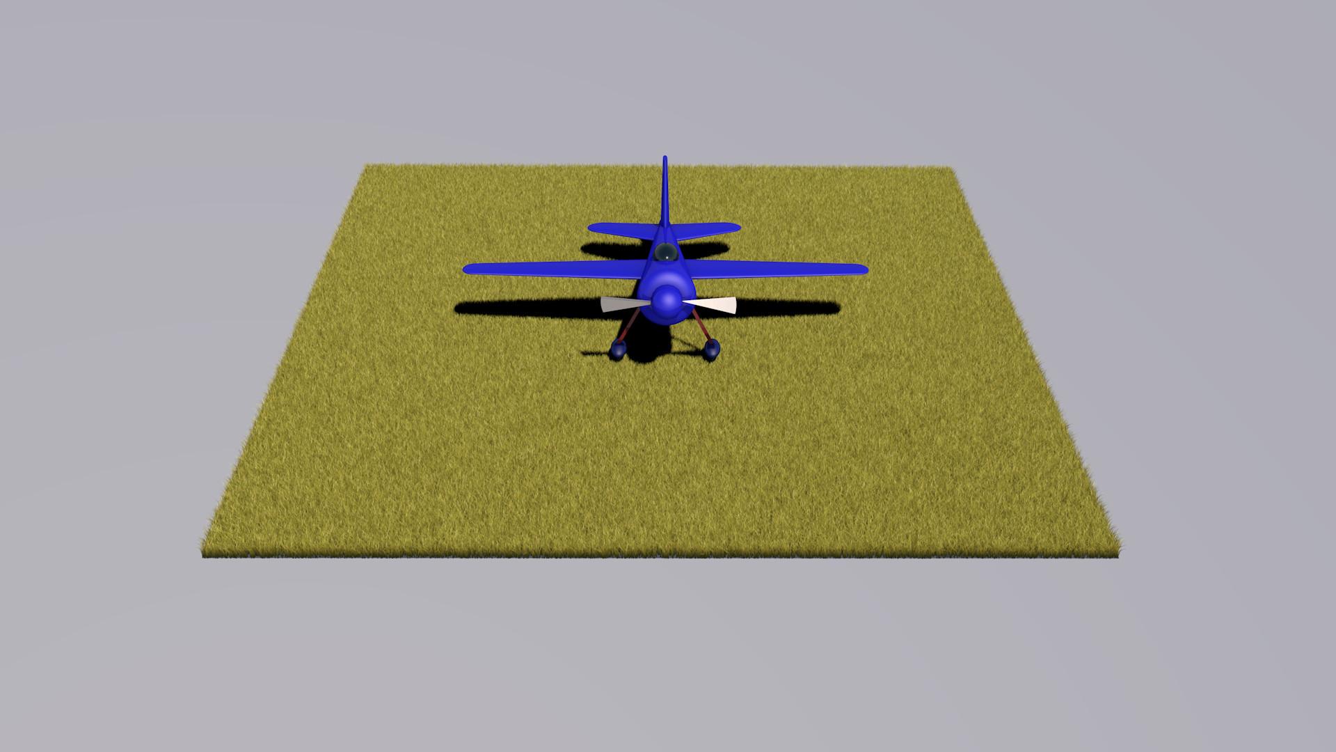 Jacob Science - Cinema 4D Cartoon Style Plane