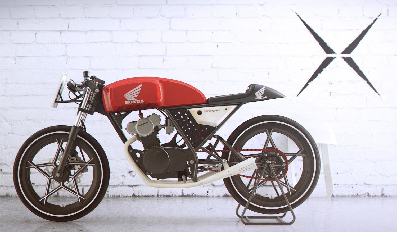 Davide Curci Honda Dream 50 Cafe