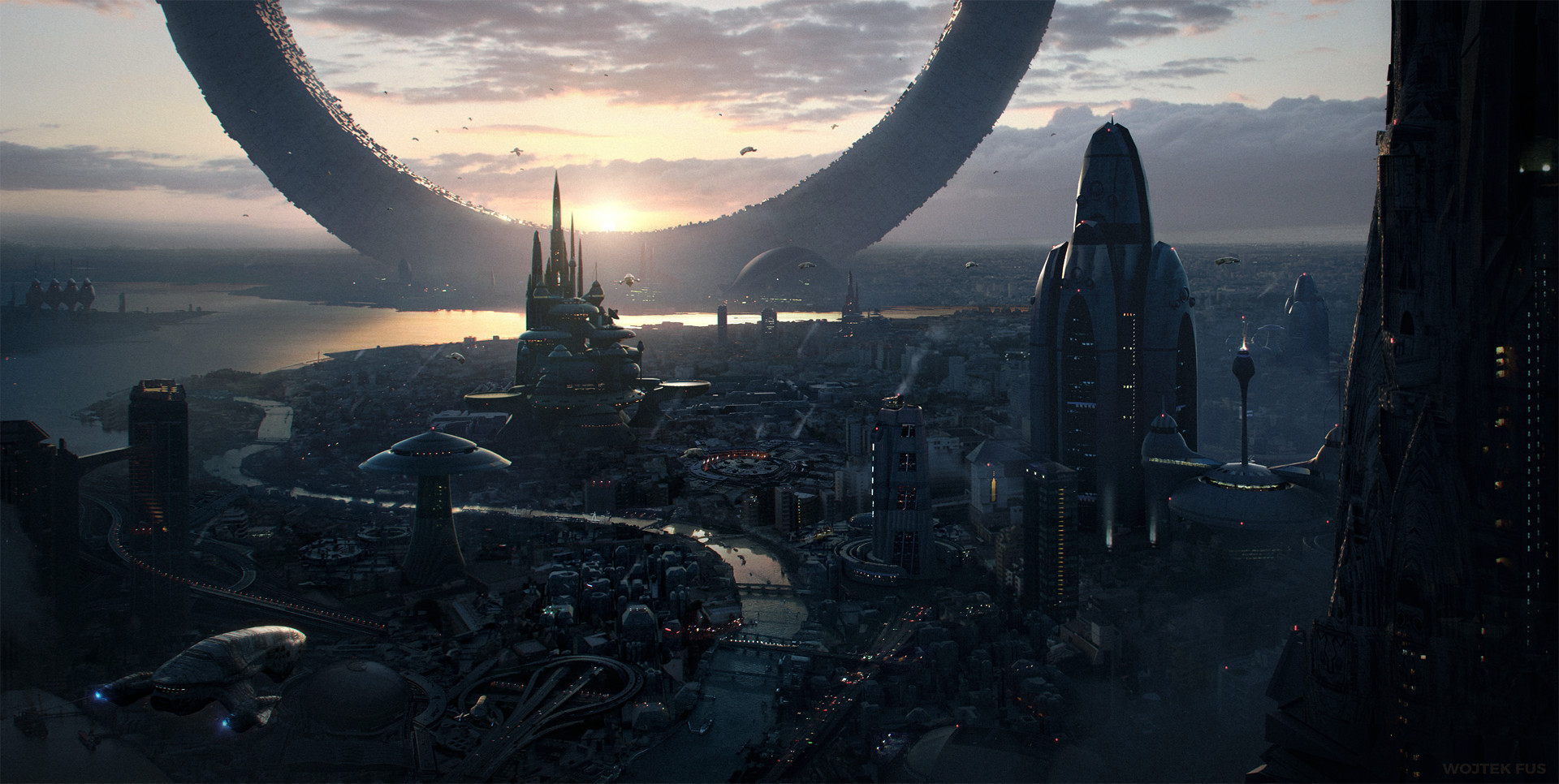 Wojtek fus cityscape