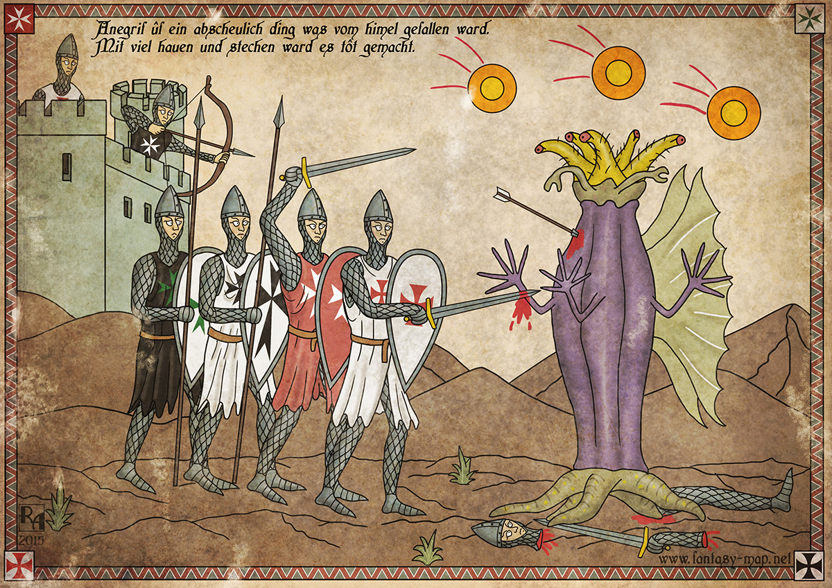 ArtStation - The Crusades and Lovecraft's Monsters, Robert