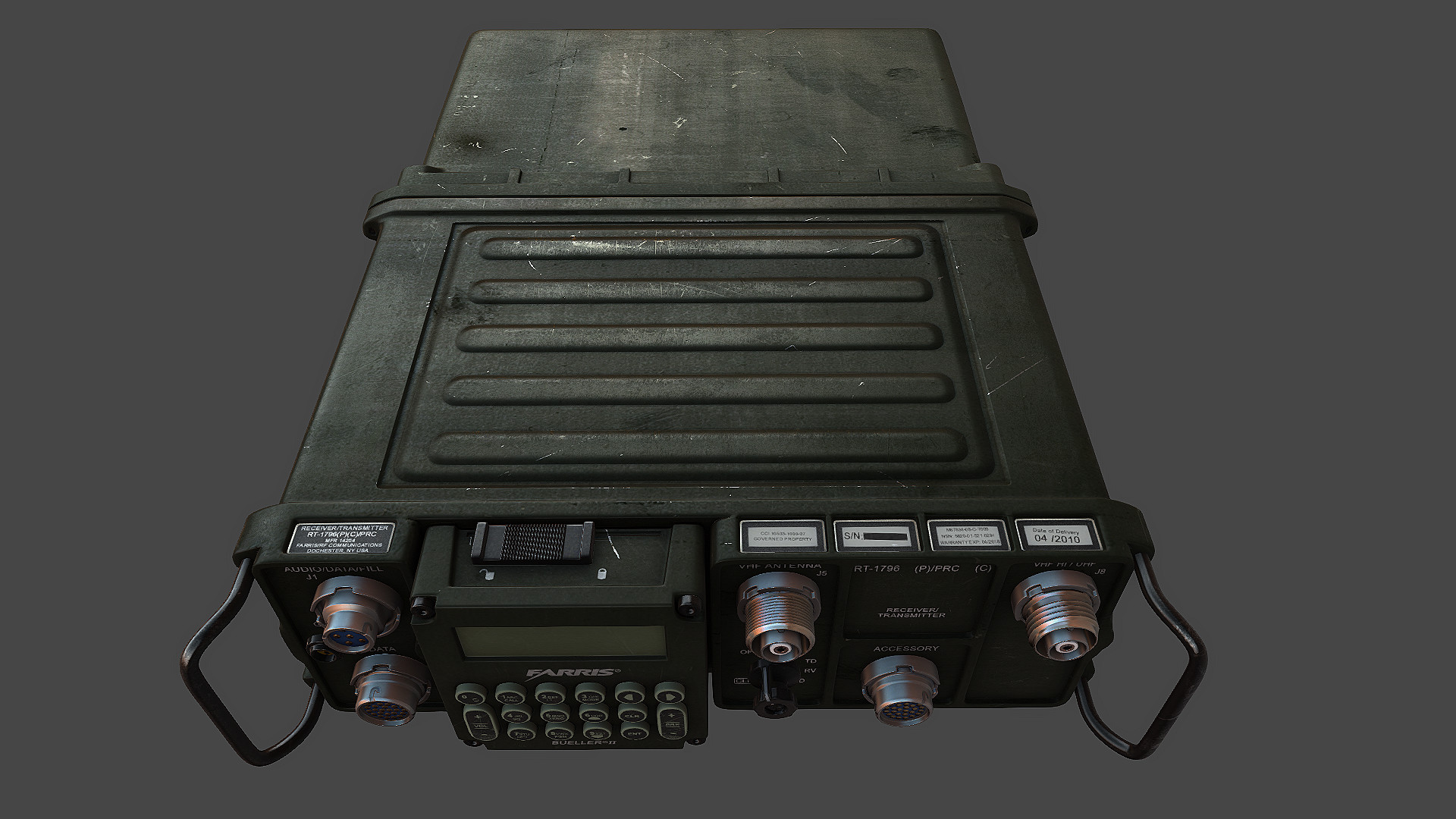 ArtStation - AN/PRC-117F, Jeff Eicher