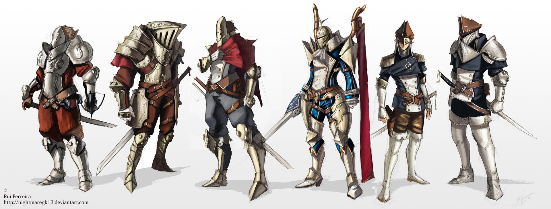 Rui ferreira warriors of arlos