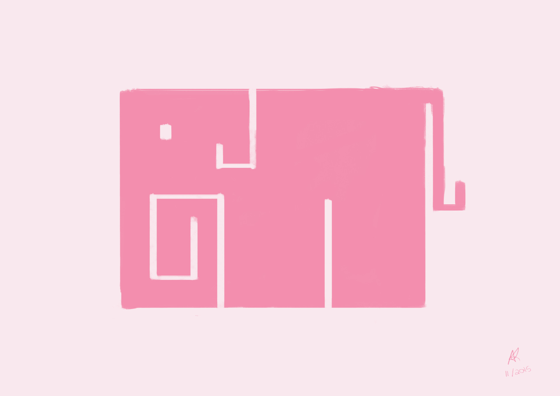Rectangle Elephant