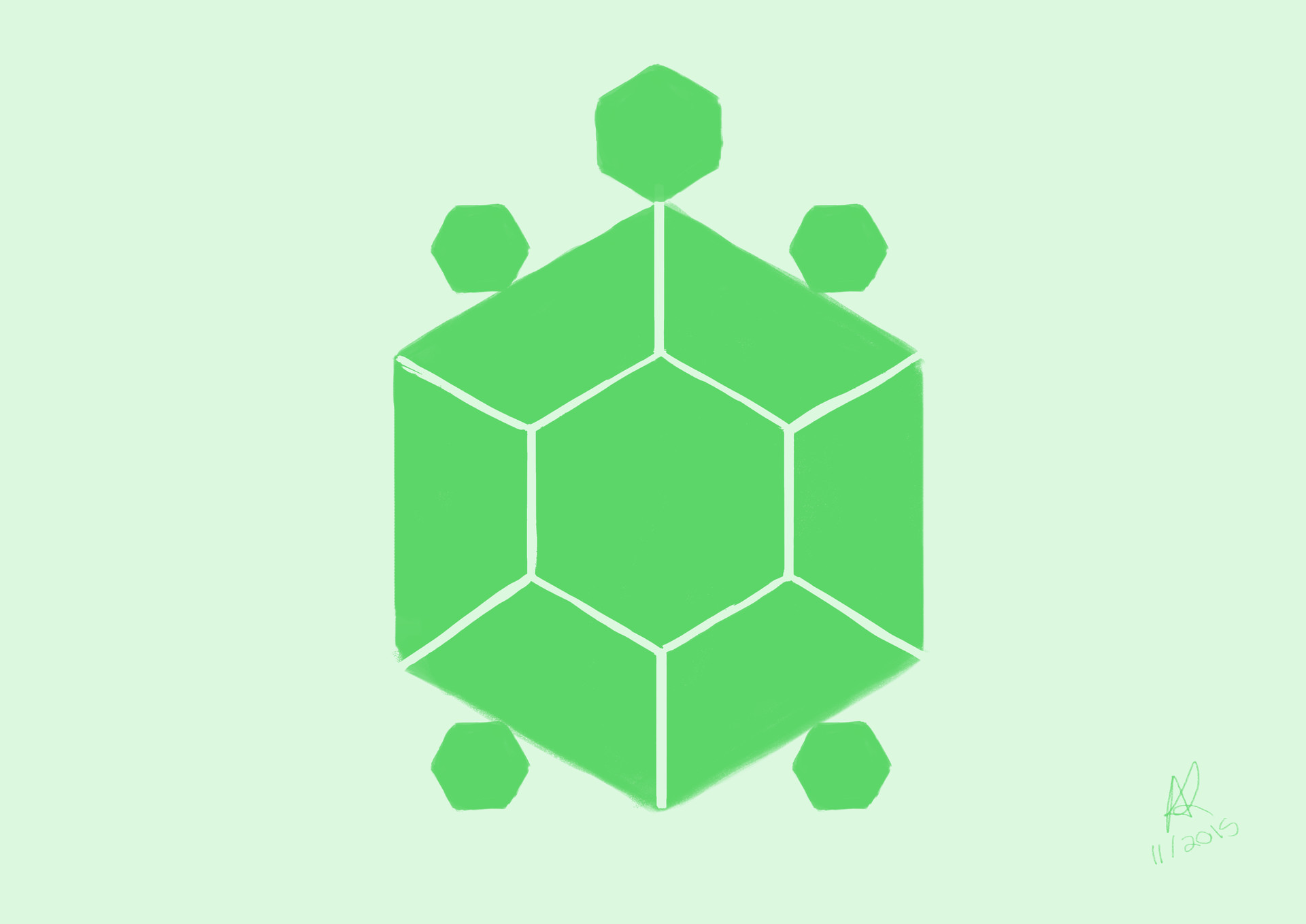 Hexagon Turtle