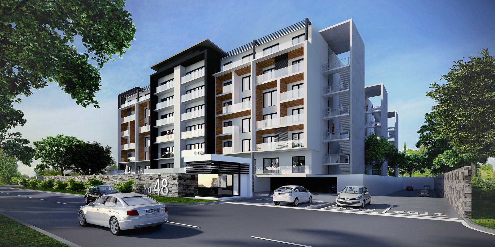 Dunkeld Apartments Pitch
