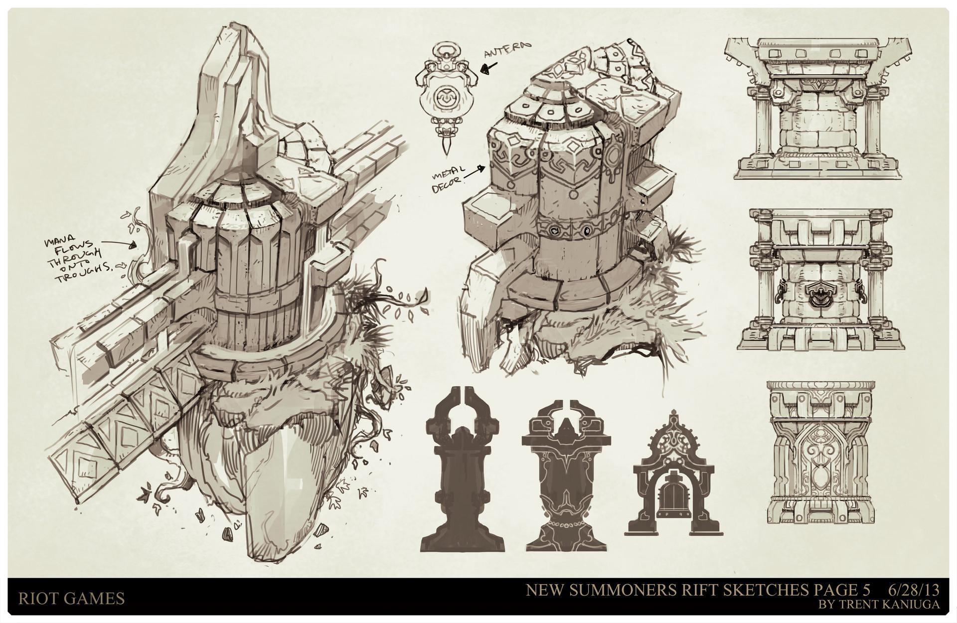 ArtStation - League of Legends, Summoners Rift update